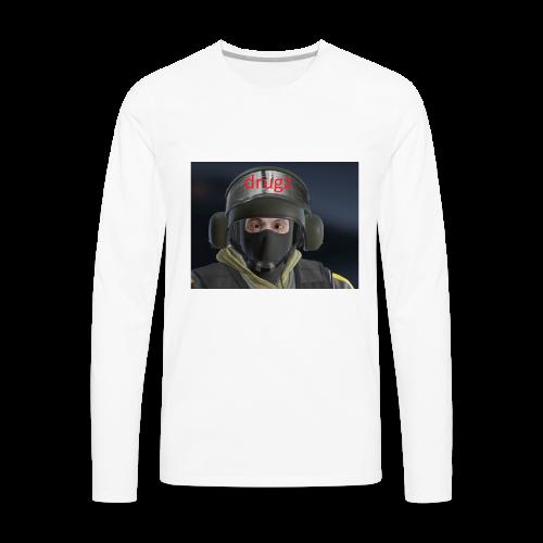 bandit drugz - Men's Premium Long Sleeve T-Shirt