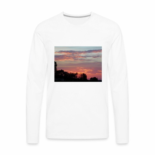 Sunset of Pastels - Men's Premium Long Sleeve T-Shirt