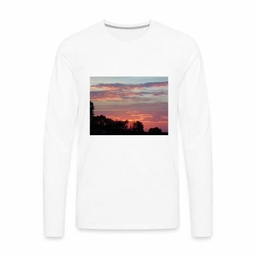 Sunset of Pastels - Men's Premium Long Sleeve T-Shirt