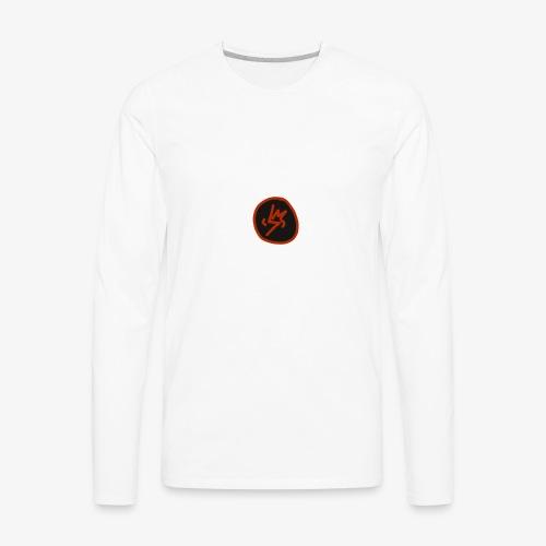 SCRATCHED MASK MK III - Men's Premium Long Sleeve T-Shirt