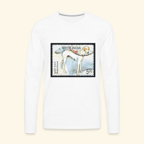 India - Mudhol Hound - Men's Premium Long Sleeve T-Shirt