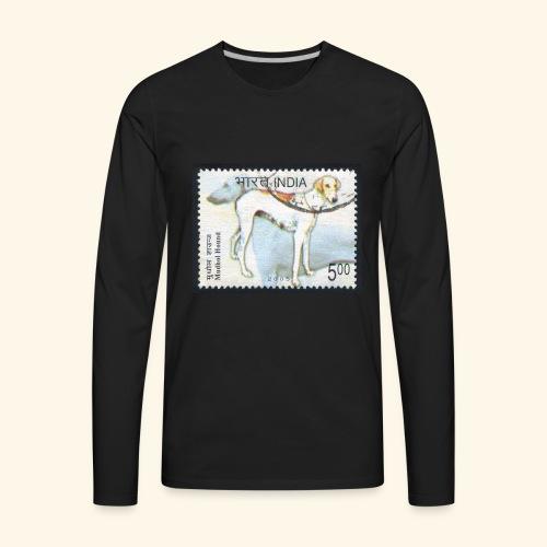 India - Mudhol Hound - Men's Premium Long Sleeve T-Shirt