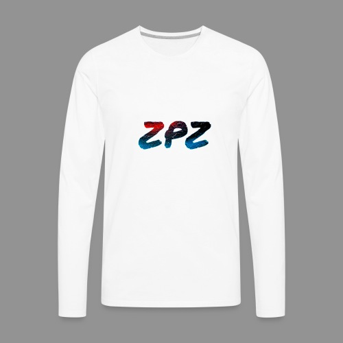 ZPZ GALEXY LOGO - Men's Premium Long Sleeve T-Shirt