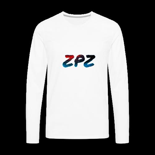 ZPZ GALEXY LOGO - Men's Premium Long Sleeve T-Shirt