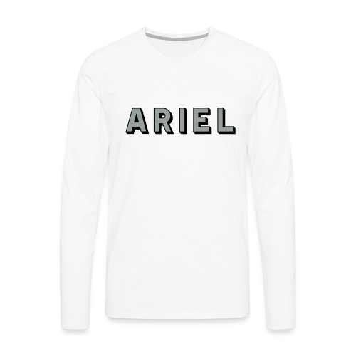 Ariel - AUTONAUT.com - Men's Premium Long Sleeve T-Shirt