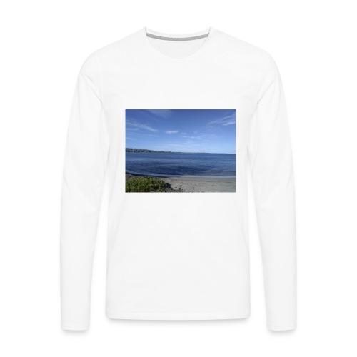 Dreambigworkhard - Men's Premium Long Sleeve T-Shirt