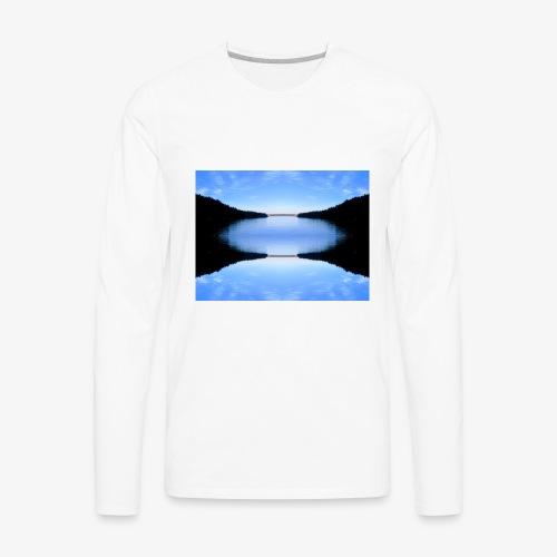 Reflecting Pool - Men's Premium Long Sleeve T-Shirt