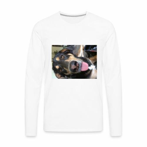 The cutest dog ever - Men's Premium Long Sleeve T-Shirt