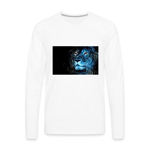 Lion Art - Men's Premium Long Sleeve T-Shirt