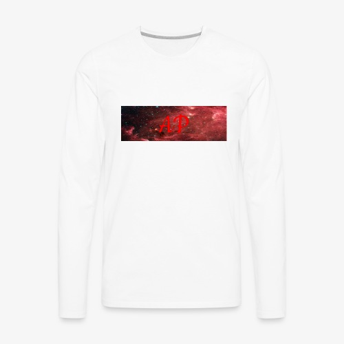 Almost Pro (Red Galaxy) - Men's Premium Long Sleeve T-Shirt
