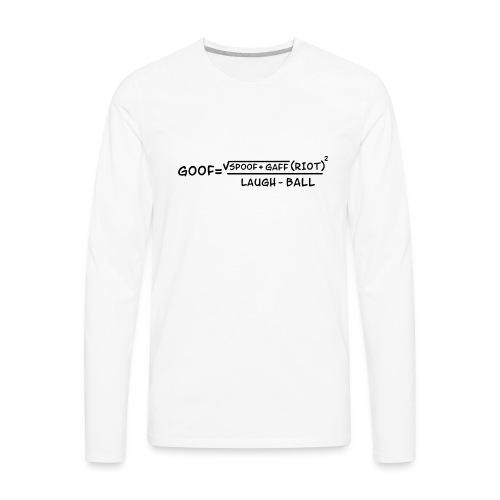 gaff text3 - Men's Premium Long Sleeve T-Shirt