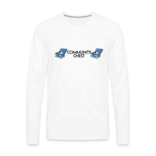 Community Chest - Men's Premium Long Sleeve T-Shirt