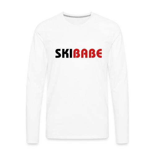 Ski Babe - Men's Premium Long Sleeve T-Shirt