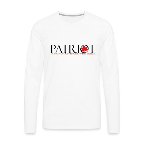 CDN PATRIOT_LOGO_1 - Men's Premium Long Sleeve T-Shirt