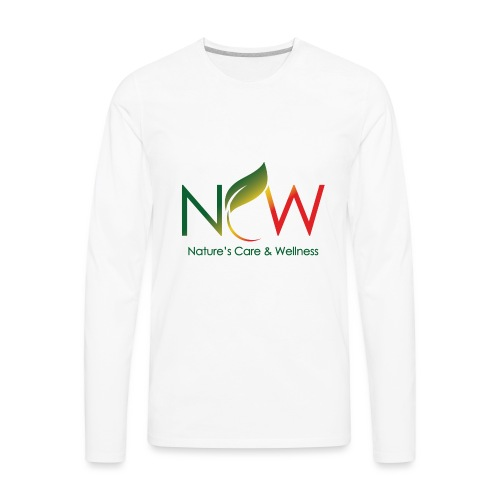 Ncw Small Logo - Men's Premium Long Sleeve T-Shirt