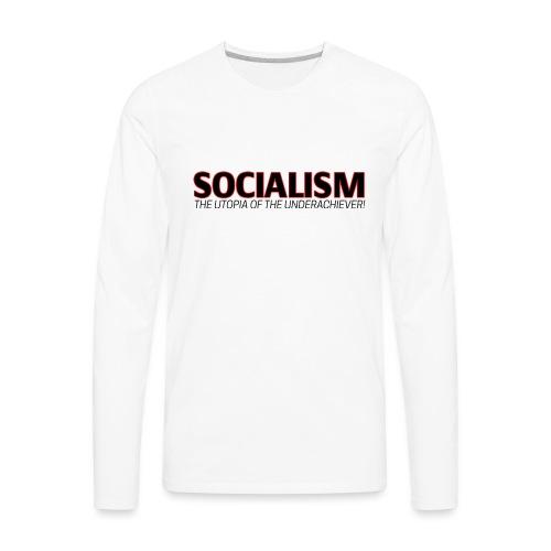 SOCIALISM UTOPIA - Men's Premium Long Sleeve T-Shirt