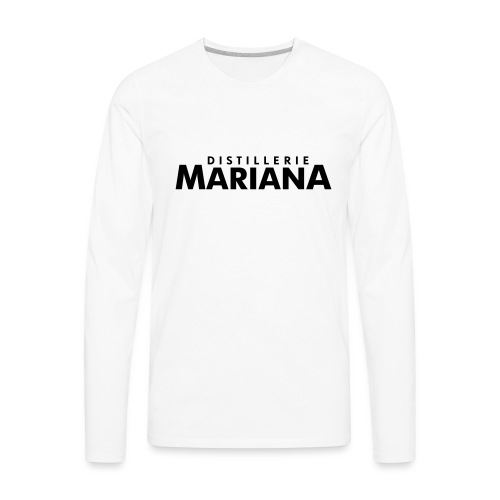 Distillerie Mariana_Casquette - Men's Premium Long Sleeve T-Shirt