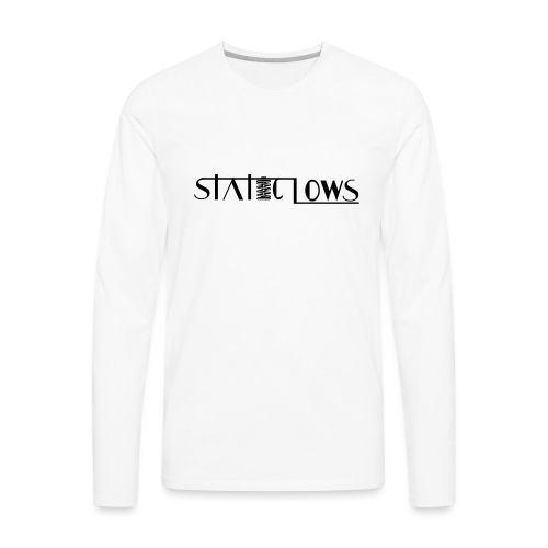 Staticlows - Men's Premium Long Sleeve T-Shirt