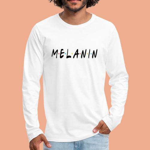 Melanin - Men's Premium Long Sleeve T-Shirt
