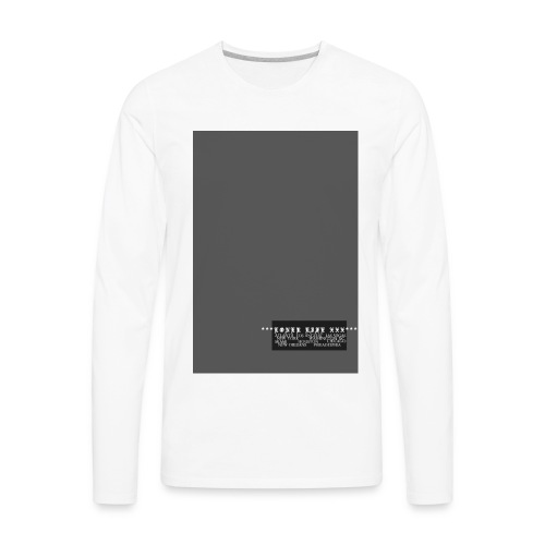 CITIES - Men's Premium Long Sleeve T-Shirt