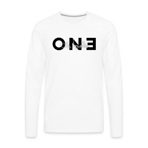One by Ulf Arnalds - Men's Premium Long Sleeve T-Shirt