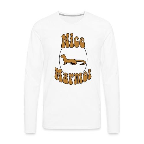 Nice Marmot - Men's Premium Long Sleeve T-Shirt