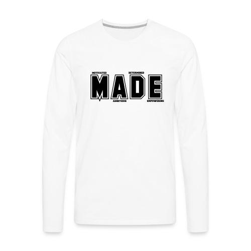 MADE MERCHANDISE LOGO - Men's Premium Long Sleeve T-Shirt