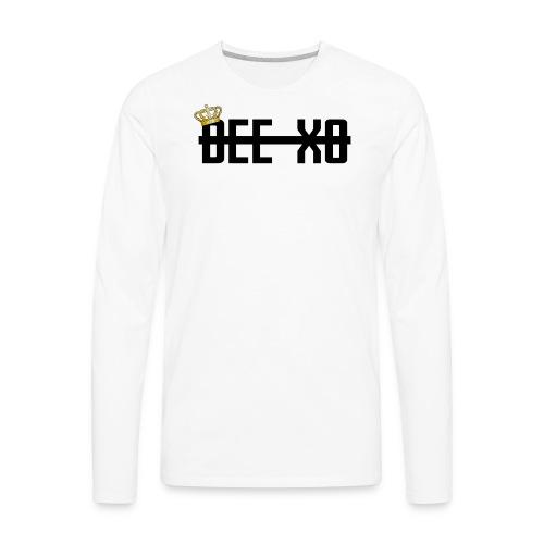 Black Crowned Dee Merch - Men's Premium Long Sleeve T-Shirt