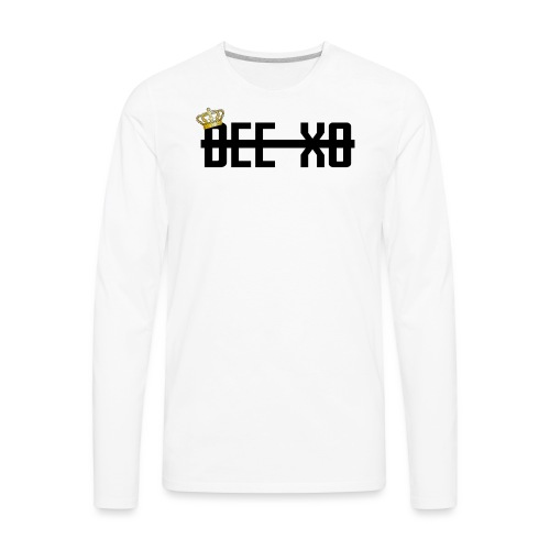 Black Crowned Dee Merch - Men's Premium Long Sleeve T-Shirt