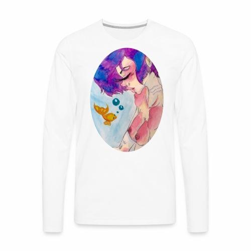 sleeping Siren - Men's Premium Long Sleeve T-Shirt
