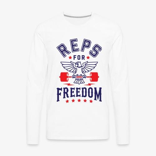 Reps For Freedom - Men's Premium Long Sleeve T-Shirt