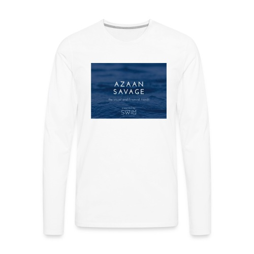 Azaansavage - Men's Premium Long Sleeve T-Shirt