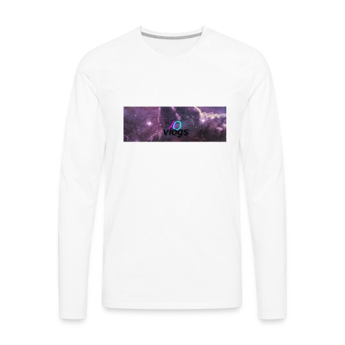 space 03 - Men's Premium Long Sleeve T-Shirt