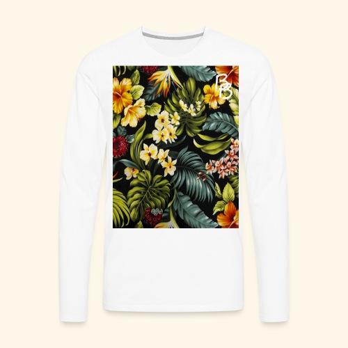 Flower BB - Men's Premium Long Sleeve T-Shirt