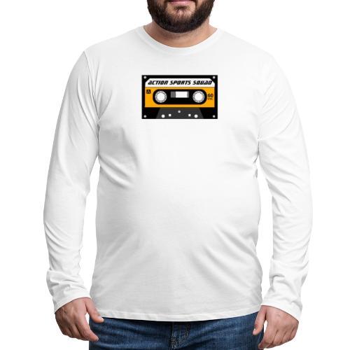 actionsportssquad cassette - Men's Premium Long Sleeve T-Shirt
