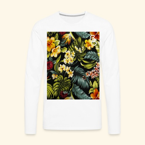 Flower BB - Men's Premium Long Sleeve T-Shirt