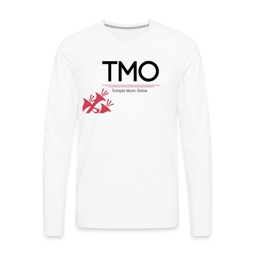 TMO Logo - Men's Premium Long Sleeve T-Shirt