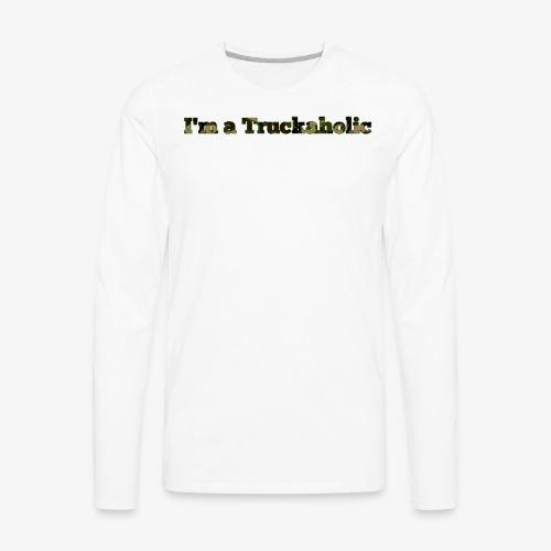 First Step - Men's Premium Long Sleeve T-Shirt