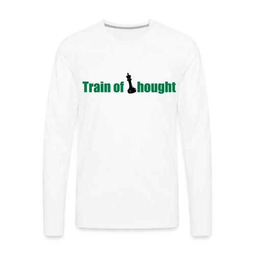 Train of Thought - Men's Premium Long Sleeve T-Shirt