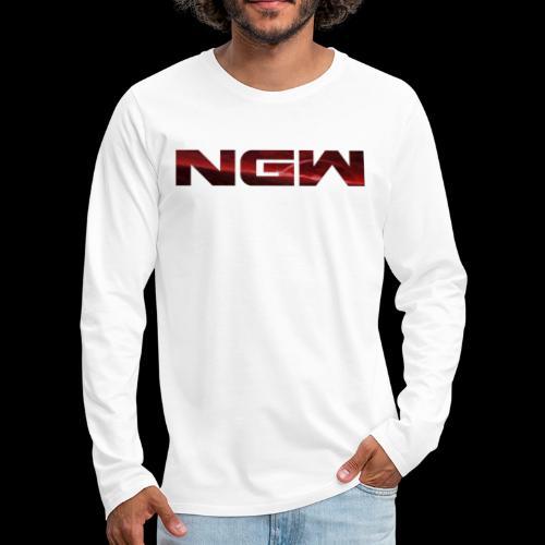 NGW Transparent Logo - Men's Premium Long Sleeve T-Shirt
