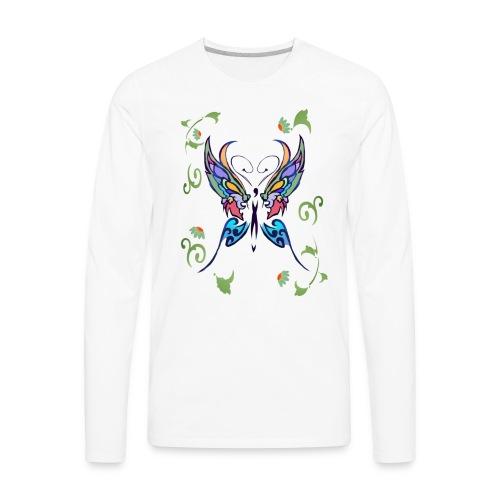 Bright Butterfly - Men's Premium Long Sleeve T-Shirt