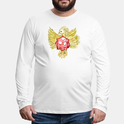 Phoenix - Larose Karate - Winning Design 2018 - Men's Premium Long Sleeve T-Shirt