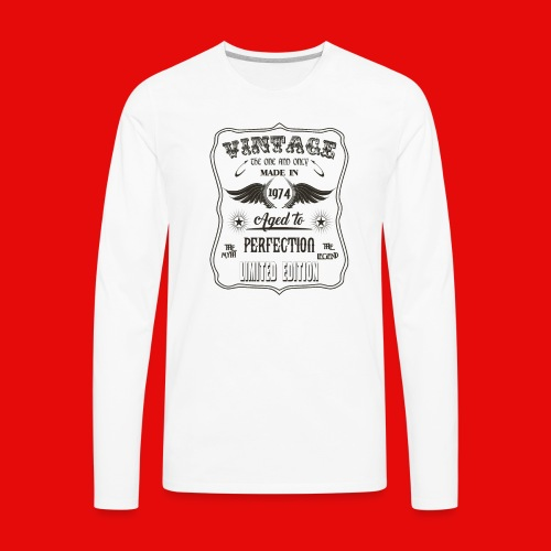 Vintage - Men's Premium Long Sleeve T-Shirt