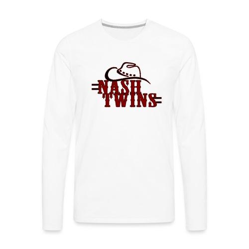 Nash Twins - Long Sleeve - Men's Premium Long Sleeve T-Shirt