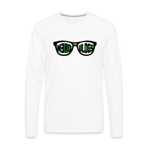 The_Nerd_Vlogs_-_logo - Men's Premium Long Sleeve T-Shirt