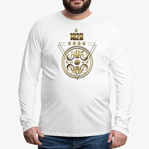 1828 Signature - Men's Premium Long Sleeve T-Shirt