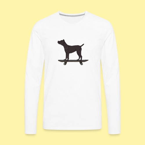 dogskate - Men's Premium Long Sleeve T-Shirt
