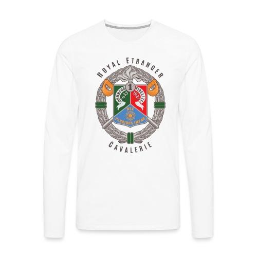 1er REC - 1 REC - Legion - Badge - Dark - Men's Premium Long Sleeve T-Shirt