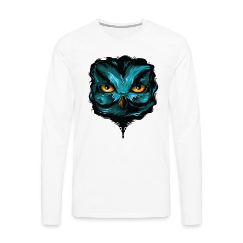 GreenOwl - Men's Premium Long Sleeve T-Shirt