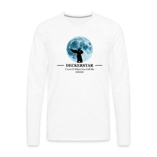 Deckerstar Moon - Men's Premium Long Sleeve T-Shirt
